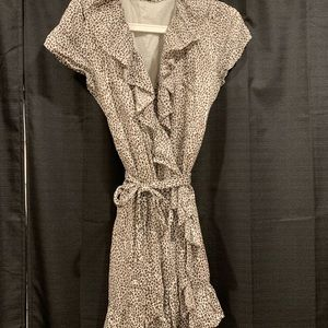Leopard mini dress in perfect condition